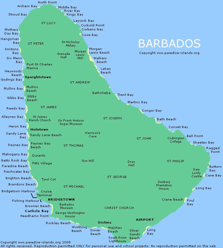 A Tour Of Bridgetown Barbados
