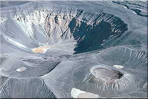 Ubehebe and little Hebe craters