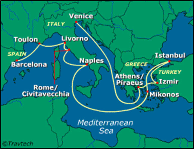 Cruising Europe 2014
